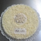 Torta tipo decorata con Bouquet