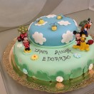 Torta Glassata Decorata personaggi Disney